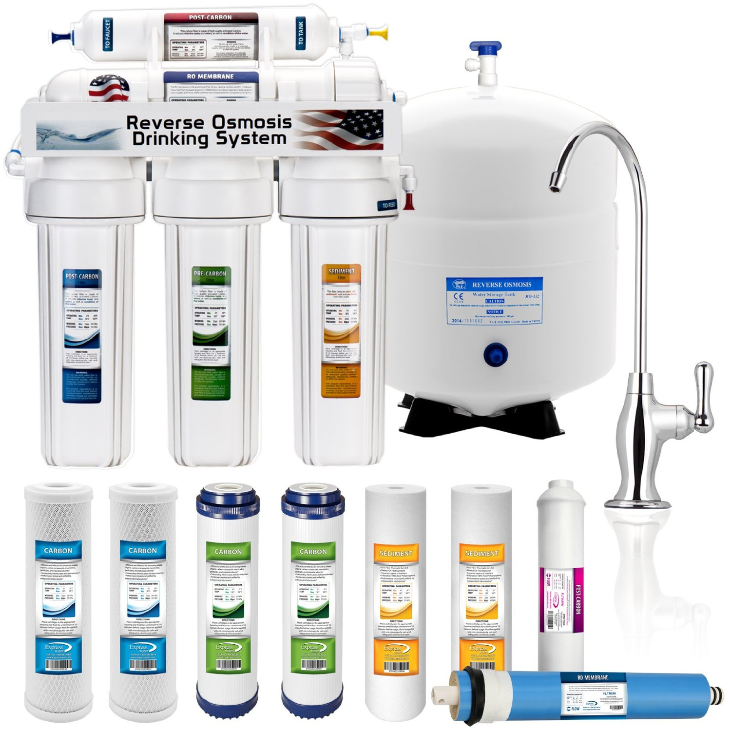 Express Water Five Stage Water Filtration System